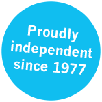 Proudly independent since 1977