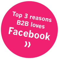 Top 3 reasons B2B loves Facebook